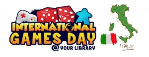 International gaming day at your library