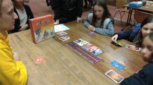 Biblioteca Oblate durante la giornata di gioco del 10 novembre 2018